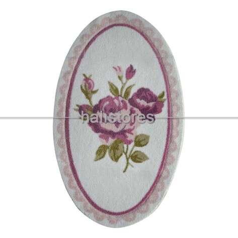 Confetti Halı - Confetti Kaymaz Banyo Halısı Rosa Pembe (1)
