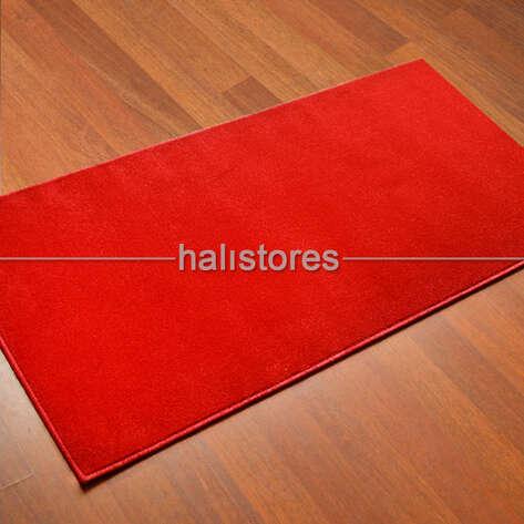 Confetti Halı - Confetti Yolluk Halı Firuze Kırmızı Protokol Halısı (1)