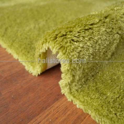 Confetti Halı - Confetti Yumuşak Tüylü Yuvarlak Fıstık Yeşili Halı Miami (1)