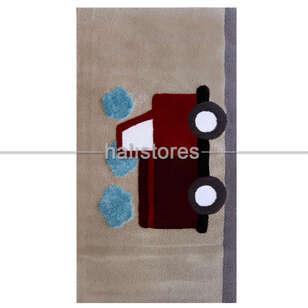 Custom Design Araba Çocuk Odası Halısı - Thumbnail