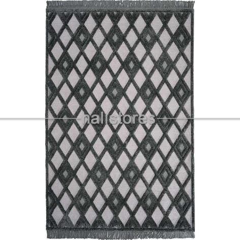 Halıstores - Dekoratif Gri Halı Matrix 751 (1)