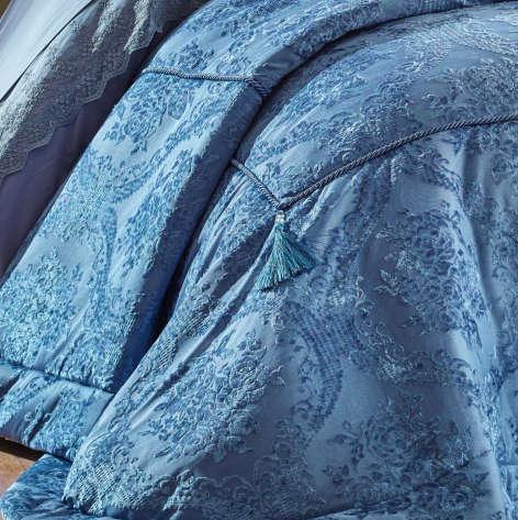 Elart - Elart Çift Kişilik Yatak Örtüsü Life Mavi (1)