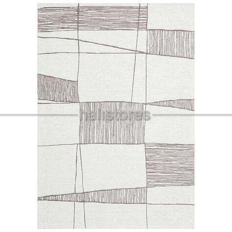 Halıstores - Etnik Desenli Kilim Palma PM 03 Vizon (1)