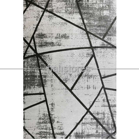 Halıstores - Etnik Desenli Kilim Palma PM 04 Antrasit (1)