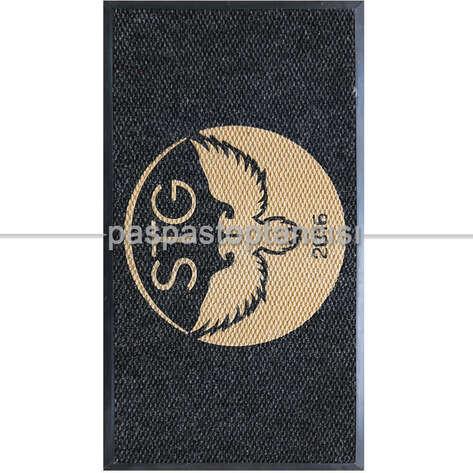 Paspas Toptancısı - Firmalara Özel Logolu Siyah Paspaslar (1)