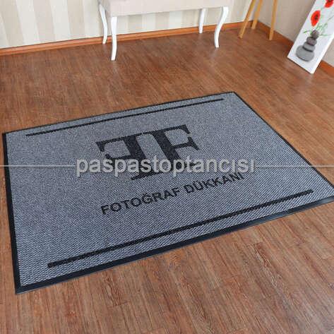 Paspas Toptancısı - Fotoğraf Stüdyoları için Logolu Paspas (1)