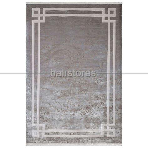 Pierre Cardin Halı - Gri-Beyaz Çerçeveli Halı Pierre Cardin Monet MT18B (1)