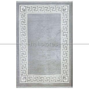 Pierre Cardin Halı - Gri-Beyaz Çerçeveli Halı Pierre Cardin Monet Mt26a (1)
