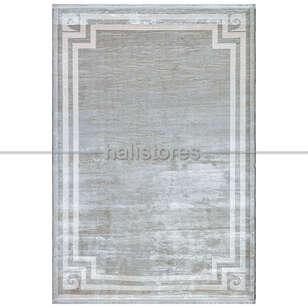 Pierre Cardin Halı - Gri-Beyaz Çerçeveli Halı Pierre Cardin Monet Mt27a (1)