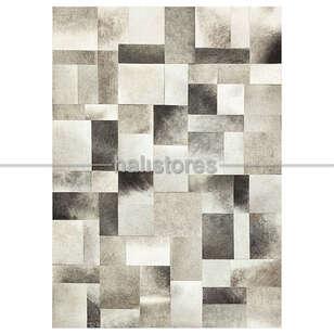 Liviadora - Gri Deri Patchwork Halı (1)