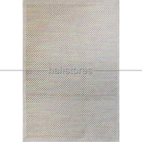 Halıstores - İnce Dekoratif Renkli Jüt Kilim Halı 4204 (1)