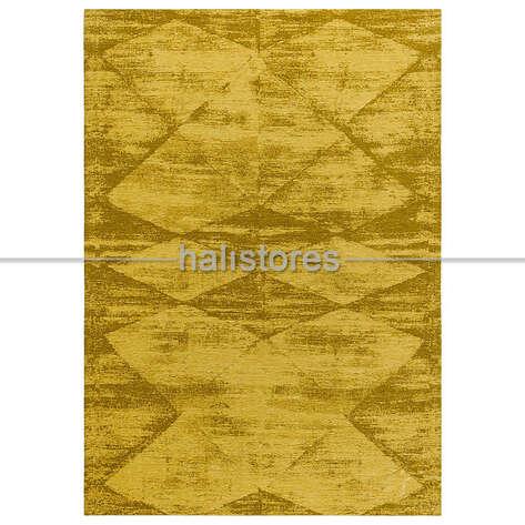 Liviadora - İnce Modern Salon Halısı 01 Altın (1)