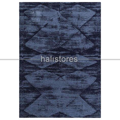 Eko Halı - İnce Modern Salon Halısı 01 Mavi (1)