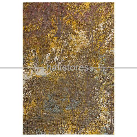 Eko Halı - İnce Tasarım Salon Halısı 02 Sarı (1)