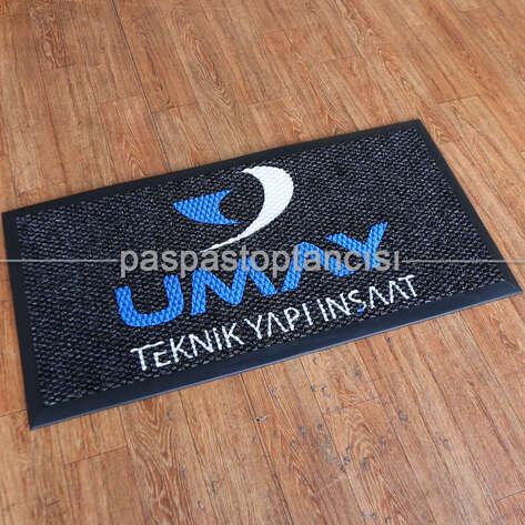 Paspas Toptancısı - İnşaat Firmaları için Logolu Paspas (1)