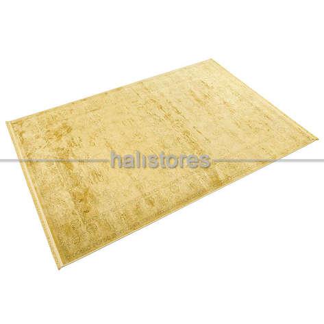 Halıstores - İthal Özel Dokuma Halı Batik 396 Hardal (1)