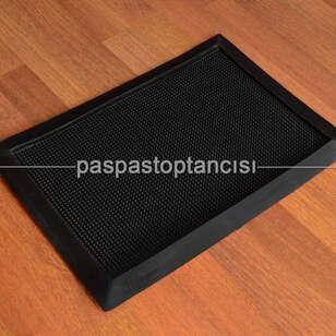 Paspas Toptancısı - Kauçuk Hijyenik Paspas Siyah (1)