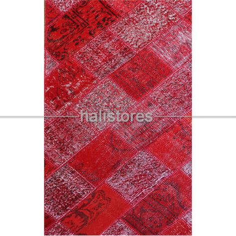 Liviadora - Kırmızı Patchwork Halı (1)