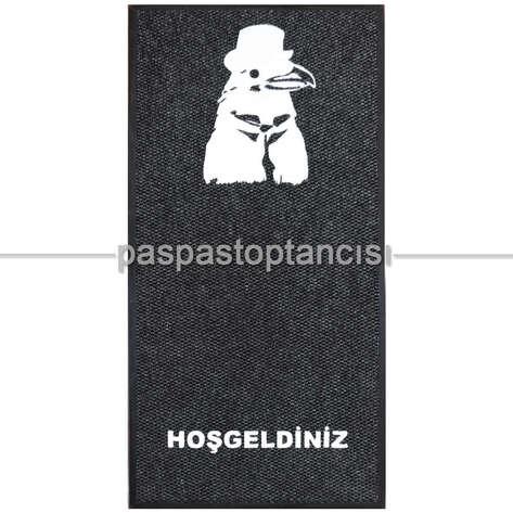 Paspas Toptancısı - Kişiye Özel Logolu Siyah Paspaslar (1)
