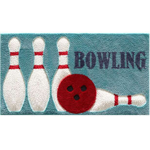 Kişiye Özel Tasarım Halı Bowling - Thumbnail
