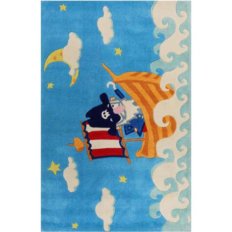 Halıstores - Korsan Halı Deniz Mavi (1)