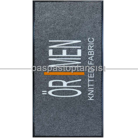 Paspas Toptancısı - Kumaş Firmaları için Logolu Paspas (1)