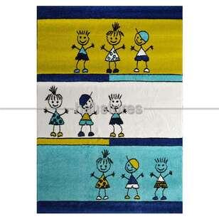 Lalee Halı - Lalee Halı Çocuk Halısı California 151 White (1)