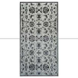 Lalee Halı - Lalee Halı Modern Halı Ambiente 801 Beyaz-Gümüş (1)