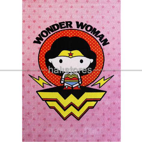 Halıstores - Lisanslı Wonder Women Çocuk Halısı 126 (1)