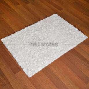 Liviadora - Liviadora Micropost Tüylü Yolluk Halı Beyaz (1)
