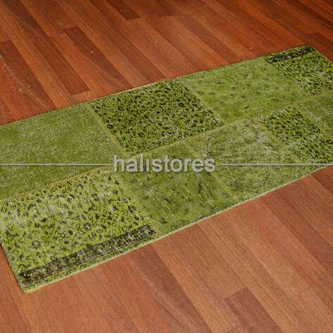 Liviadora - Liviadora Patchwork Halı Fıstık Yeşili (1)