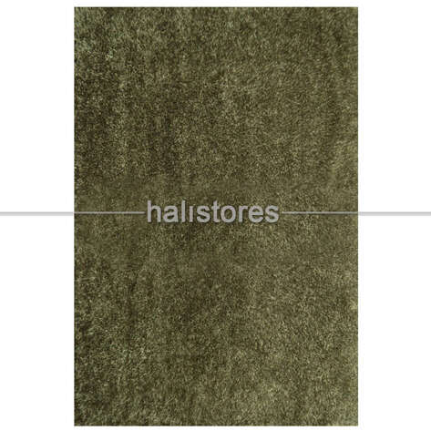 Liviadora Tüylü Banyo Halısı Koyu Yeşil