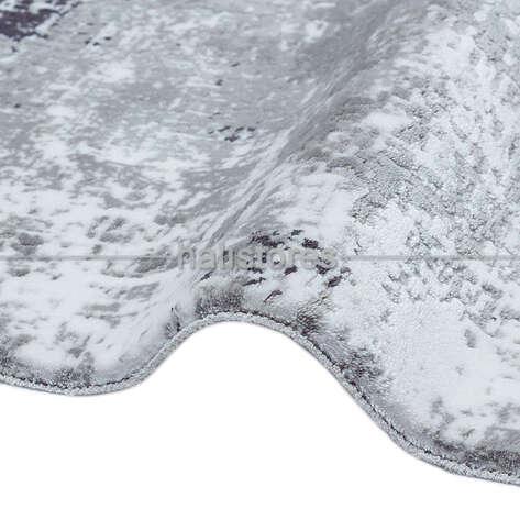 Halıstores - Lüks Gri Oval Halı Taç 7070 (1)