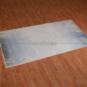 Mavi Degrade Baskılı Halı Surre SUR016 - Thumbnail