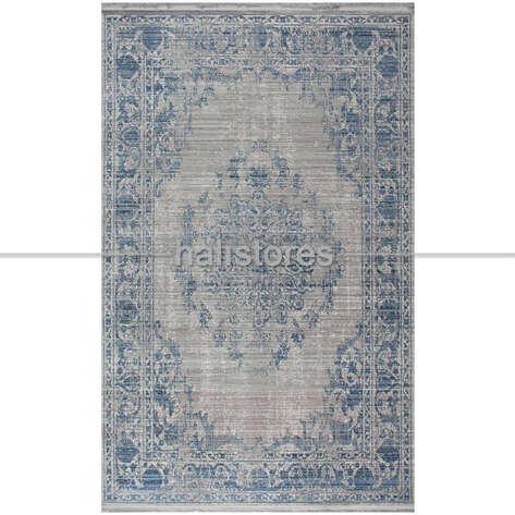 Mavi Klasik Halı Arte H074
