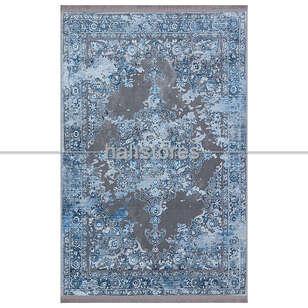 Halıstores - Mavi Pamuklu Halı 2278 01 (1)