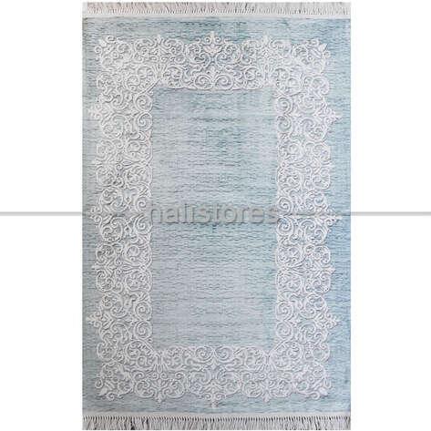 Liviadora - Mavi Renkli Klasik Baskılı Halı Sofia (1)