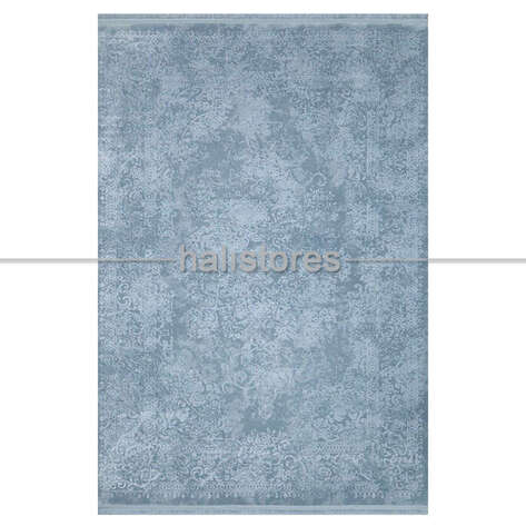 - Mavi Tek Renk Halı Ruba 11873 (1)