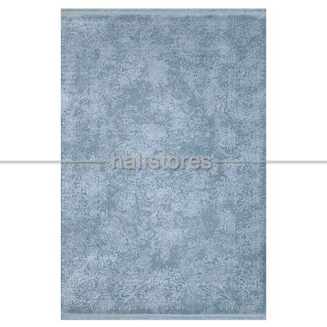 Halıstores - Mavi Tek Renk Halı Ruba 11873 (1)