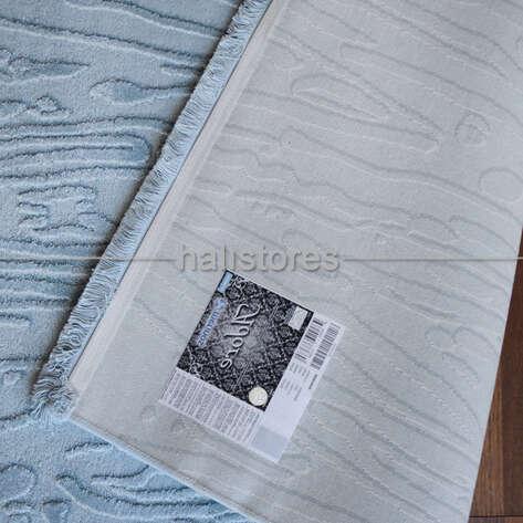 Merinos Mavi Oval Halı Adore AA003 030