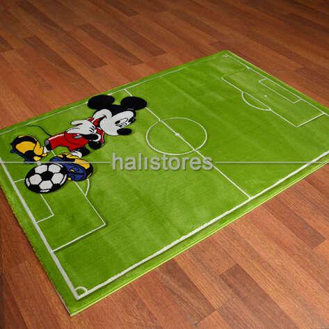 Halıstores - Mickey Mouse Futbol Çocuk Halısı Kids 997 (1)