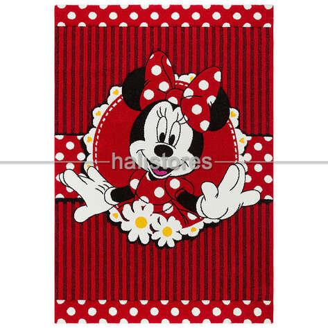 Halıstores - Minnie Mouse Kırmızı Kız Çocuk Halısı Kids 06 (1)