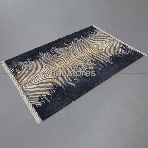Halıstores - Modern Baskılı Dekoratif Halı Zebra (1)