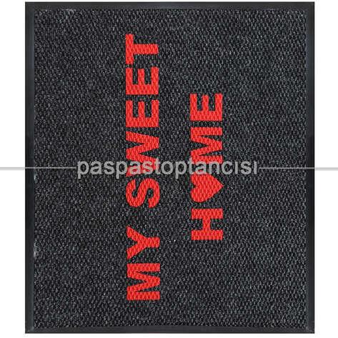 Paspas Toptancısı - My Sweet Home Logolu Paspas (1)