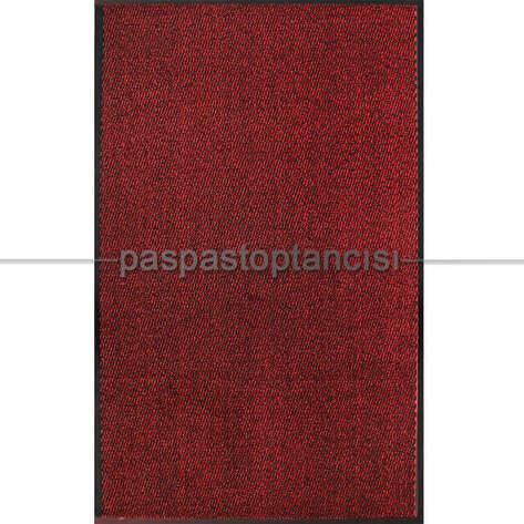 Paspas Toptancısı - Nem ve Toz Alıcı Paspas Leyla Kırmızı (1)