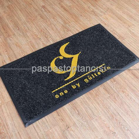 Paspas Toptancısı - Ofis için Logolu Paspas (1)