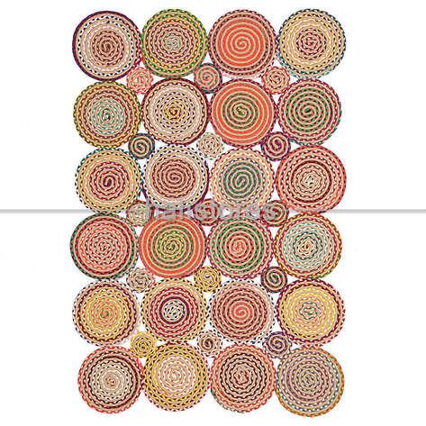 Halıstores - Örgü Halı Choti Mix 01 Renkli (1)