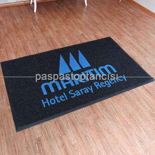Paspas Toptancısı - Otel için Logolu Halı Paspaslar (1)