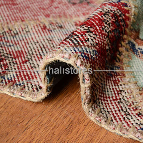 Patchwork El Halısı Cross Multi Naturel