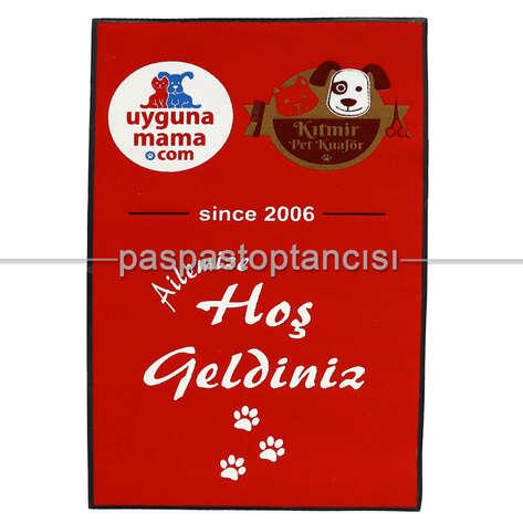 Paspas Toptancısı - Pet Shop Firmaları İçin Logolu Koko Paspas (1)